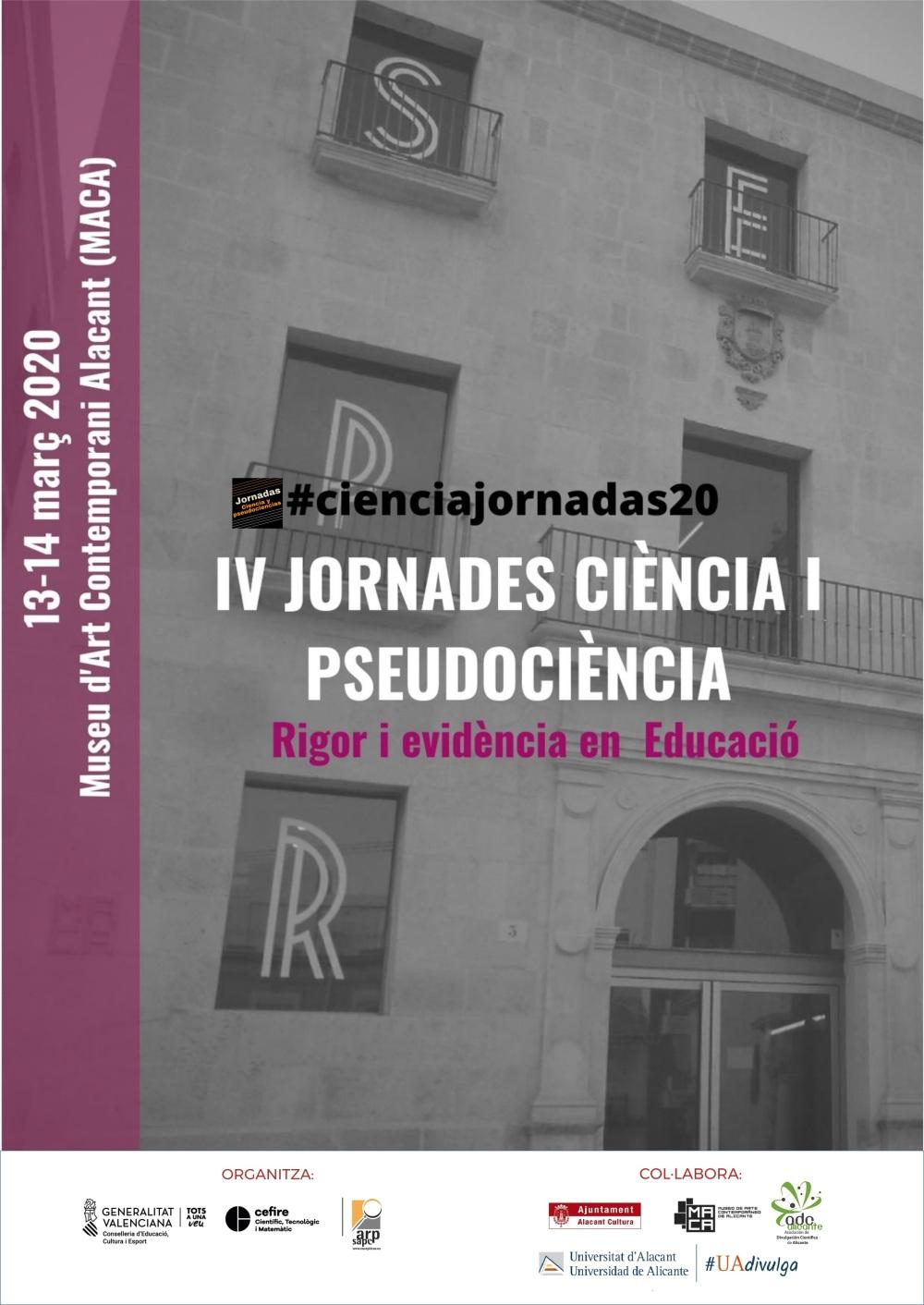 IV JORNADES CIÈNCIA I PSEUDOCIÈNCIA 2